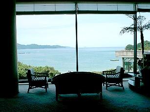 タラサ志摩ホテル&リゾート ロビーから