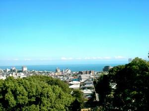 須磨寺からの景色